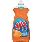 Ajax® Triple Action Dish Soap, Orange, 30 oz.