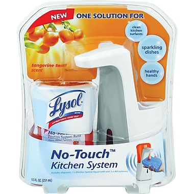 Lysol® No Touch™ Kitchen System, Tangerine Orange