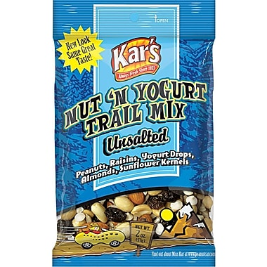 Kar's® Nuts & Yogurt Trail Mix, 2 oz. Bags, 16 Bags/Box