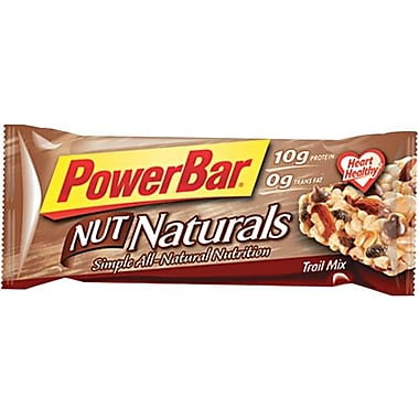 PowerBar Nut Naturals Trail Mix, 1.58 oz. Bars, 15 Bars/Box