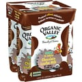 Organic Valley 1% Chocolate Low Fat Milk, 8 oz. Cartons, 4/Pack
