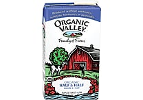 Organic Valley® Half & Half Creamer, 1 Liter