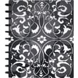 M by Staples™ Arc Customizable Flower Circle Design Notebook System, Black & White, 9-3/8in. x 11-1/4in.
