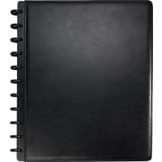 M by Staples™ Arc Customizable Leather Notebook System, Black, 9-1/2 x 11-1/2