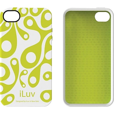 iLuv iPhone 4 Aurora Glow-in-the-Dark Case, White Glow