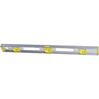 Stanley® Top Read Builders Spirit I-Beam Level, 48 in (L) x 2.1 in (W) x 0.9 in (H)