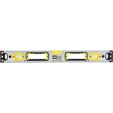Stanley® FatMax® Box Beam Level, 24 in (L) x 2.6 in (W) x 1.3 in (H)