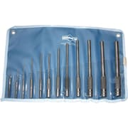 "Mayhew™ Tools 12 Pieces Pilot Punch Kit, #1-#12"" Tip Size, 1/16-1/2"""