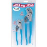 Channellock® 2 Pieces Tongue and Groove Straight Jaw Plier Set