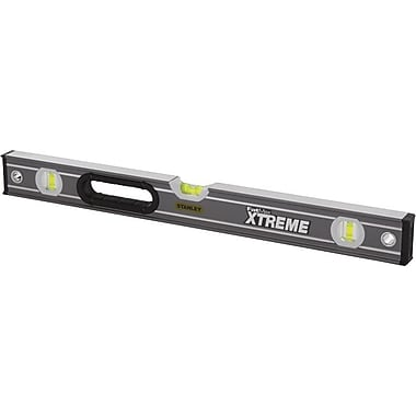 Stanley® FatMax® Xtreme™ Builders Spirit Heavy-Duty Box Beam Level, 48 in (L)
