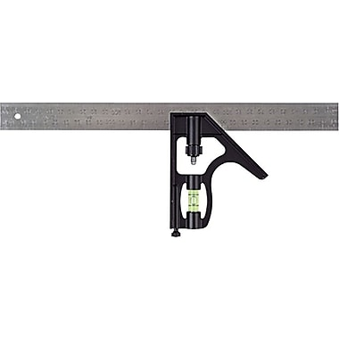 Stanley® Combination Square, 12 in (L) x 3/4 in (T) Blade