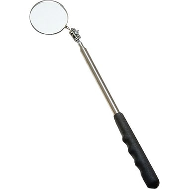 Ullman Round LED Lighted Inspection Mirror, 3 3/8-inch Diameter