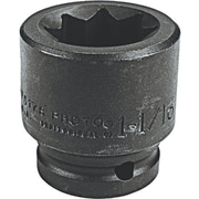Torqueplus™ Standard Length Pin Locking Box Tip Impact Socket, 3/4 in Square Drive, 1 1/8 in