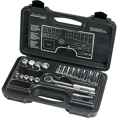 Blackhawk® 20 Pieces 12 Point Standard Socket Set, 3/8 in Drive