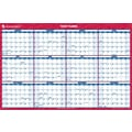 "2014 AT-A-GLANCE® Vertical/Horizontal Erasable Wall Planner, 24"" x 36"""