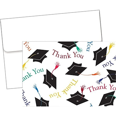 Great Papers® Mortar Board Thank You Notes with Envelopes