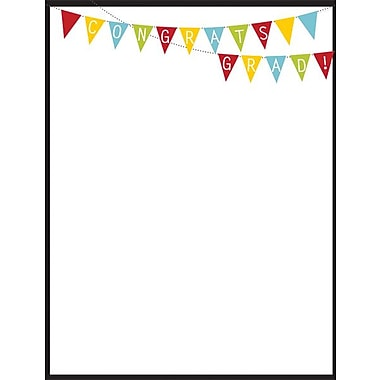 Great Papers­­® Grad Bunting Letterhead