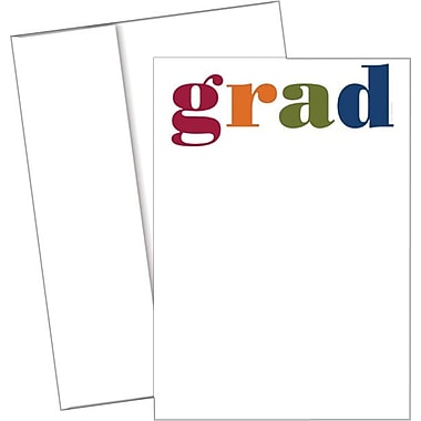Great Papers­­® Colorful Grad Invitations with Envelopes