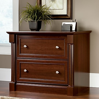 Sauder® Palladia Collection Lateral File, Select Cherry