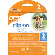 OFF!® Clip-On Mosquito Repellent, Refill