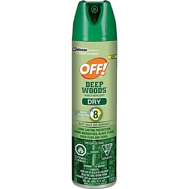 OFF!® Deep Woods Dry Insect Repellant