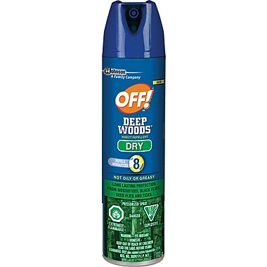 OFF!® Deep Woods Dry Sportsmen Insect Repellent