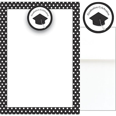 Grad Hat Add-On Invitations with Envelopes
