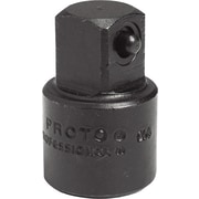 Proto® Plain Pin Locking Impact Socket Adapter, 3/8 in Female x 1/2 in Male, 1 5/16 in (L)