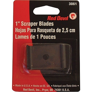 Red Devil® Single Edge Scraper Blade, 1-inch