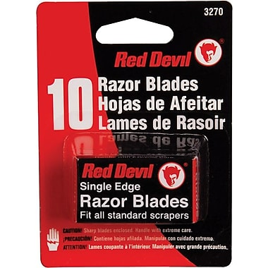 Red Devil® Single Edge Razor Blade, 10 Blades