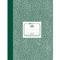 National Brand Lab Notebook, Green, 7-7/8in. x 10-1/8in.
