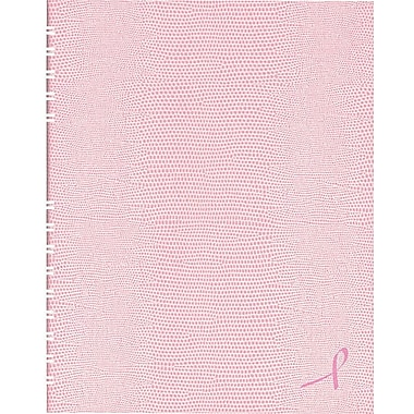Blueline® NotePro® Pink Ribbon Notebooks, Pink