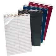 "Ampad® Steno Books, 6"" x 9"", Assorted Color Covers, 100 Sheets/Pad (20009)"