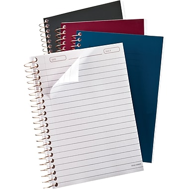 Ampad Poly Cover Memo Book, Narrow Ruled, 7in. x 5in.