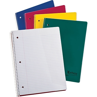 Ampad® Evidence® Recycled Wirebound 1 Subject Notebook, 8-1/2