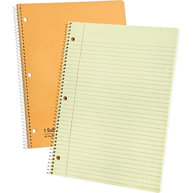 Ampad Evidence 1-Subject Notebook, College Ruled, 8-1/2in. x 11in.