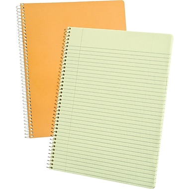 Ampad Evidence Notebook, Narrow Ruled, 8in. x 10in.