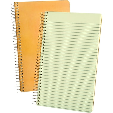 Ampad Evidence Memo Book, Narrow Ruled, 5in. x 8in.