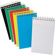 "Ampad® Pocket Wirebound Notebook, Narrow Ruled, Top-Open, 5"" x 3"""