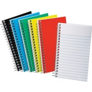 Ampad® Pocket Wirebound Notebook, Narrow Ruled, Side-Open, 5 x 3