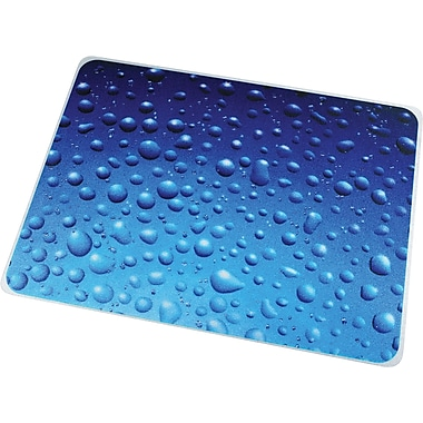 Floortex Drops Polycarbonate Chair Mat, Rectangular, 36in.x48in.