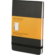 "Moleskine Classic Black Pocket Ruled Reporter Notebook, 3-1/2"" x 5-1/2"""