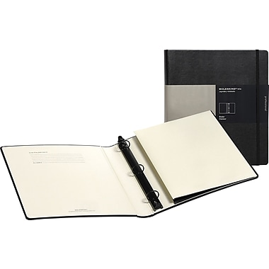 Moleskine Folio 3-Ring Binder, Black, 10-1/2in. x 11-3/4in.