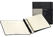 Moleskine Folio 3-Ring Binder, Black, 10-1/2' x 11-3/4'