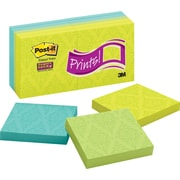 Post-it® Super Sticky 3 x 3 Print Notes, 10 Pads/Pack