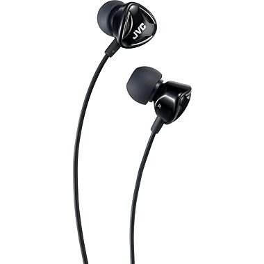 JVC Ear-Canal Headphones, Black