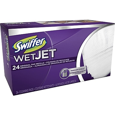 Swiffer® Wet Jet Refill Cloths, 24/Pack (PGC 08443)