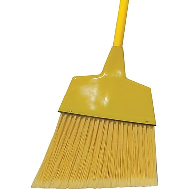 O'Dell Angled Broom, Yellow, 11.5in.