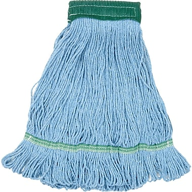 O'Dell Recycled Pet Mop Head, 5in. Headband, Blue