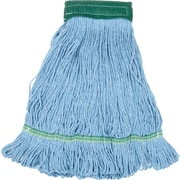 "O'Dell® Recycled Pet Mop Head, 5"" Headband, Blue"